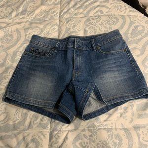 Cache jean shorts